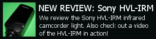 Sony HVL-IRM HVLIRM Review